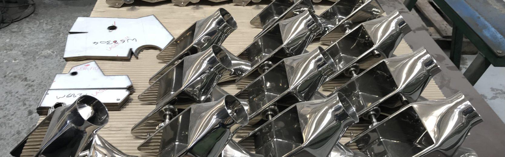 mirror polish chutes