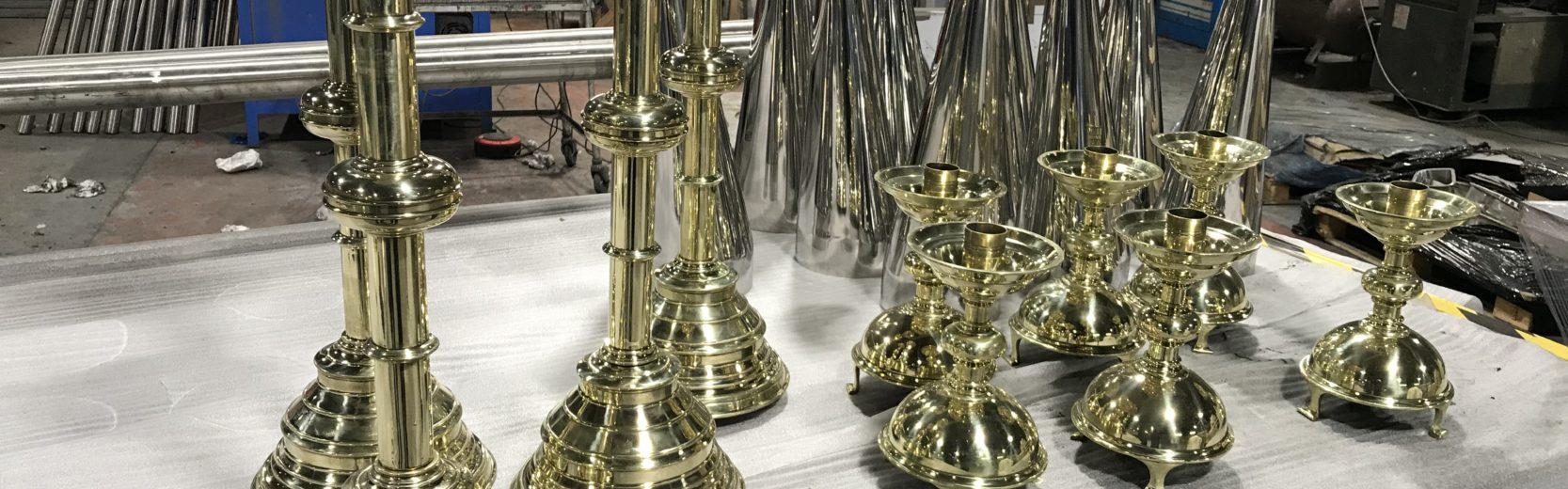 Brass Mirror polishing