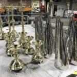 Brass & stainless steel mirror polishing