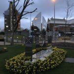 London thames barrier memorial feature mirror polish