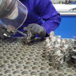 Mechanical polishing mirror finish